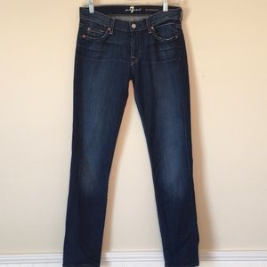 7 For All Mankind Roxanne skinny jeans size 28